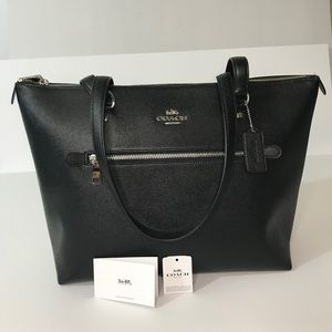 Coach Signature Gallery Leather Tote Bags